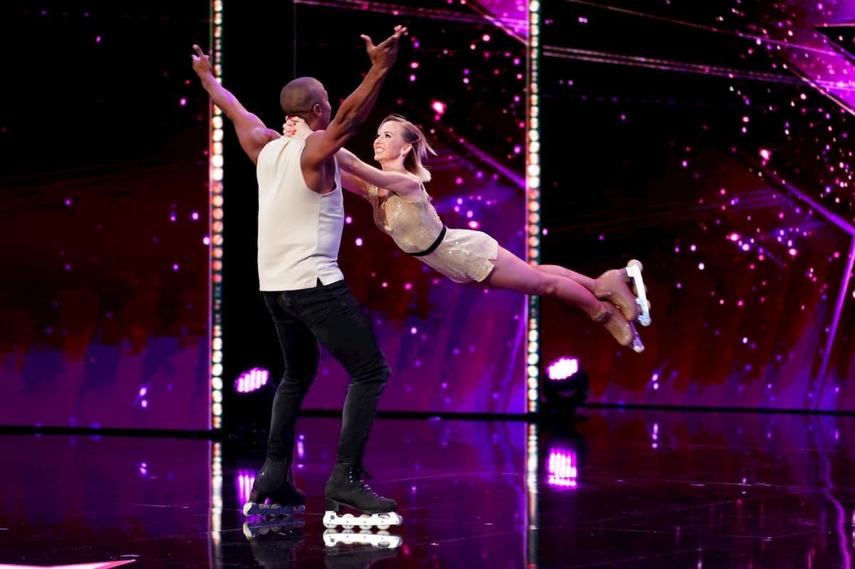 Annette Dytrt und Yannick Bonheur beim Supertalent am 5.12.2020