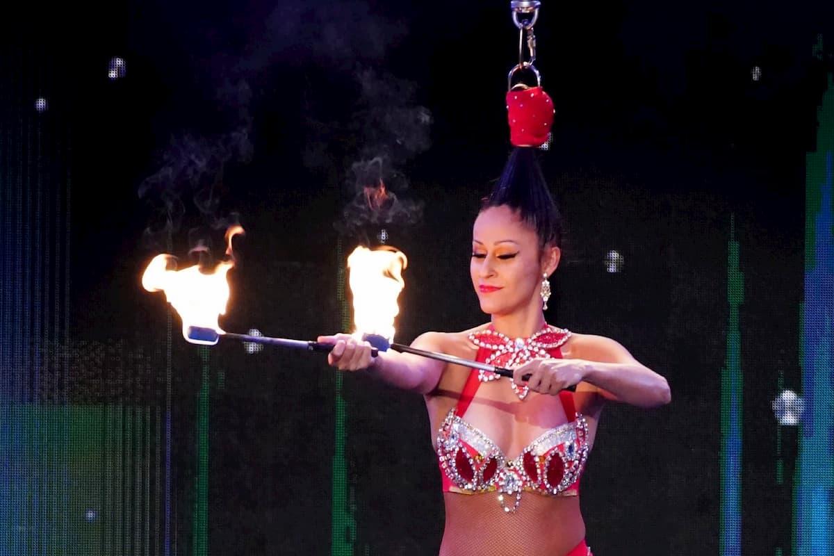 Artistin Luana Cayres beim Supertalent am 5.12.2020