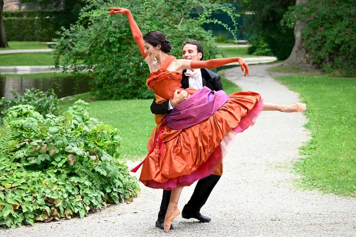 Ballett-Tänzer Neujahrskonzert 2021 Wiener Philharmoniker - hier Ketevan Papava und Roman Lazik