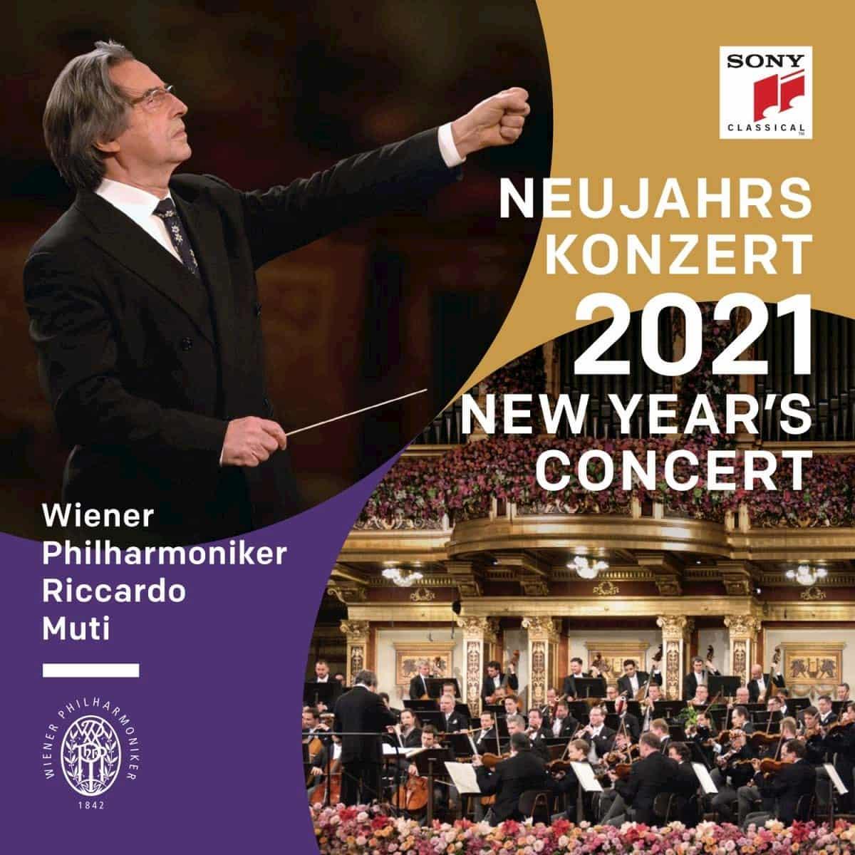 CD und DVD Neujahrskonzert 2021 Wiener Philharmoniker