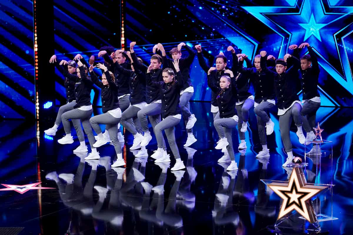 Tanzgruppe Next Level beim Supertalent am 5.12.2020