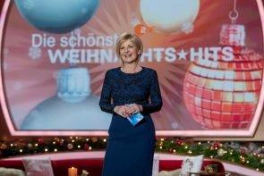 Carmen Nebel präsentiert am 2.12.2020 im ZDF Die schönsten Weihnachts-Hits