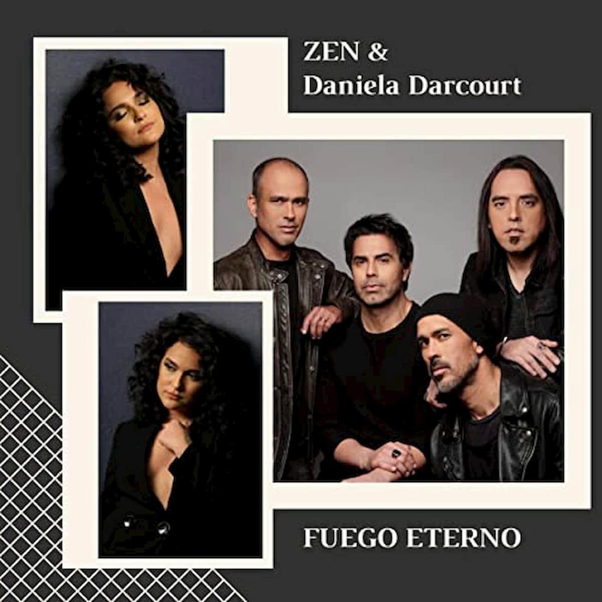 Daniela Darcourt Salsa-Sängerin (Peru) veröffentlicht Ballade Fuego Eterno mit der Band Zen