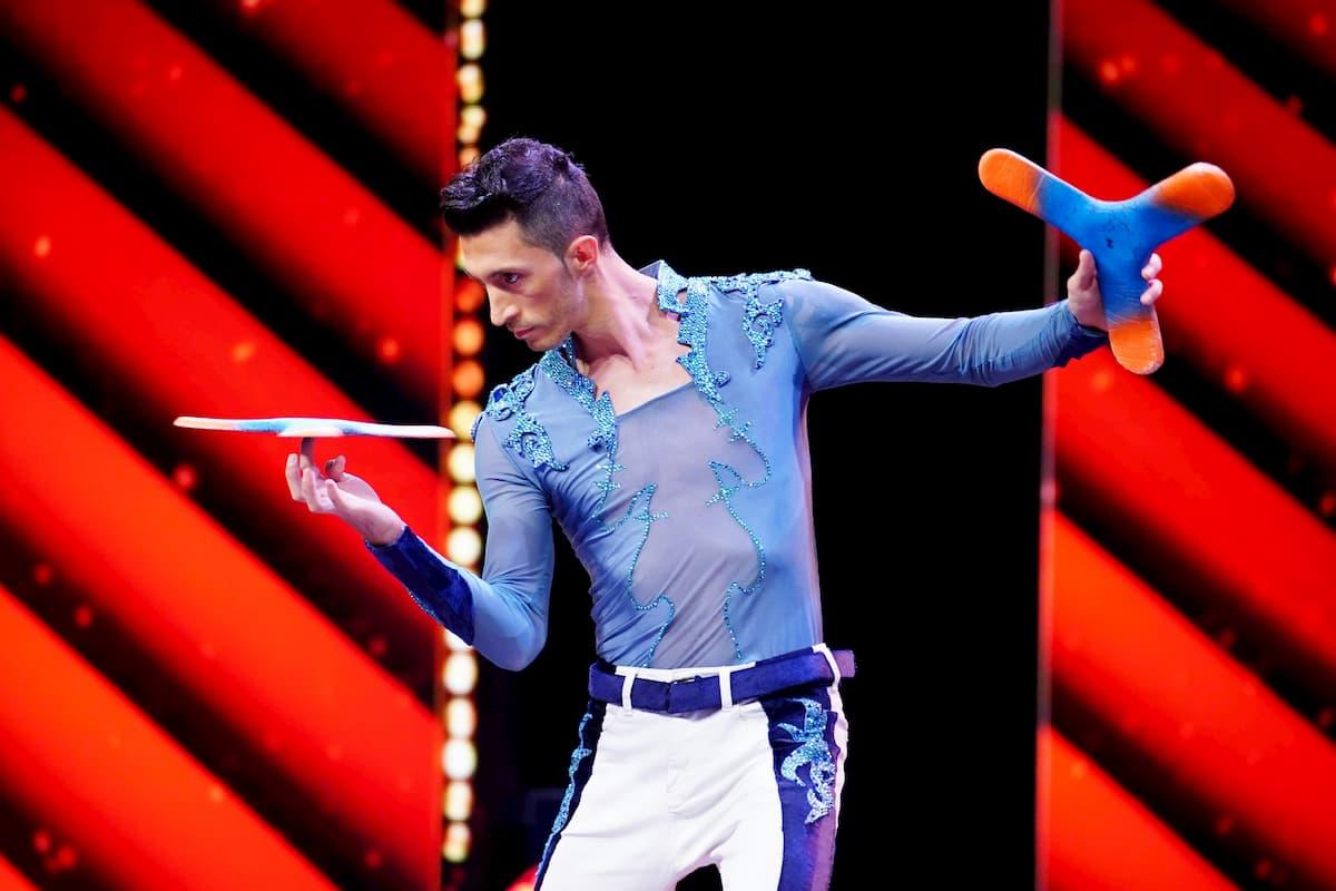 Danny Luftman beim Supertalent am 12.12.2020