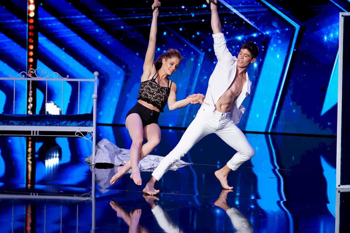 Elena und Diego beim Supertalent am 10.12.2020 Kandidaten