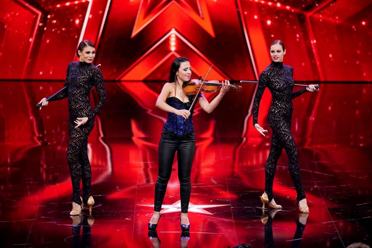 Farida Rust beim Supertalent am 12.12.2020