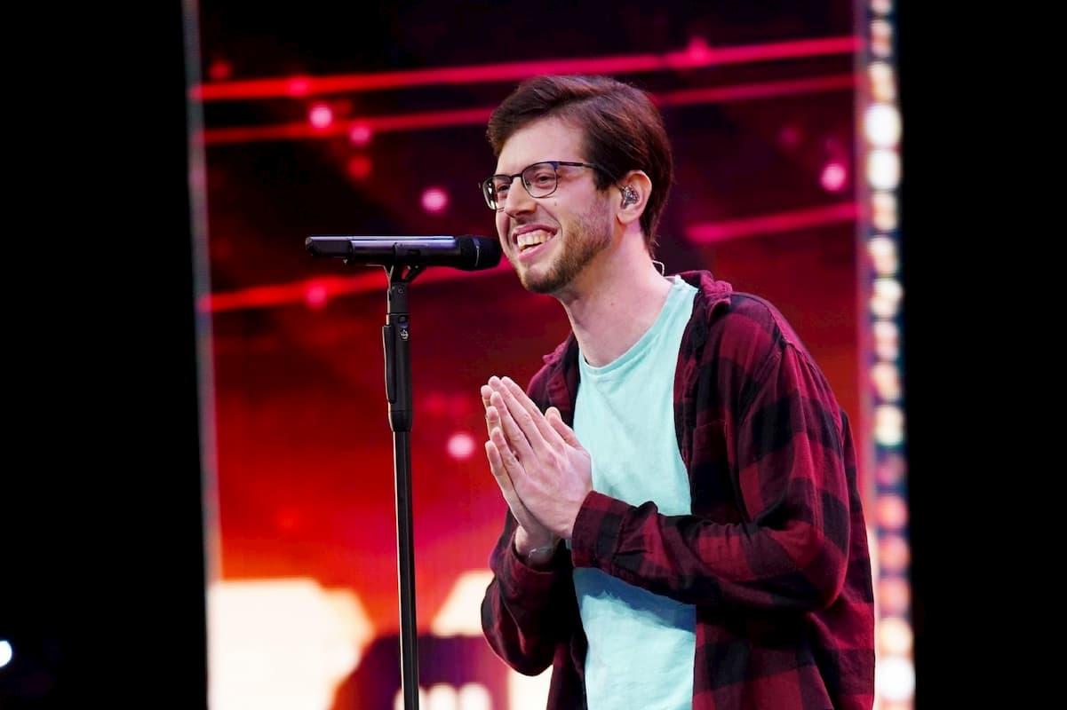 Guy First ist im Finale Supertalent 2020 am 19.12.2020