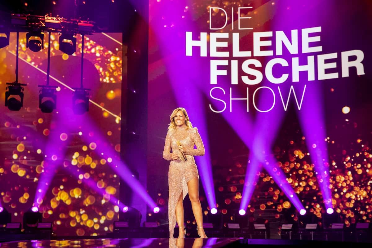 Helene Fischer in der Weihnachts-Show 2020
