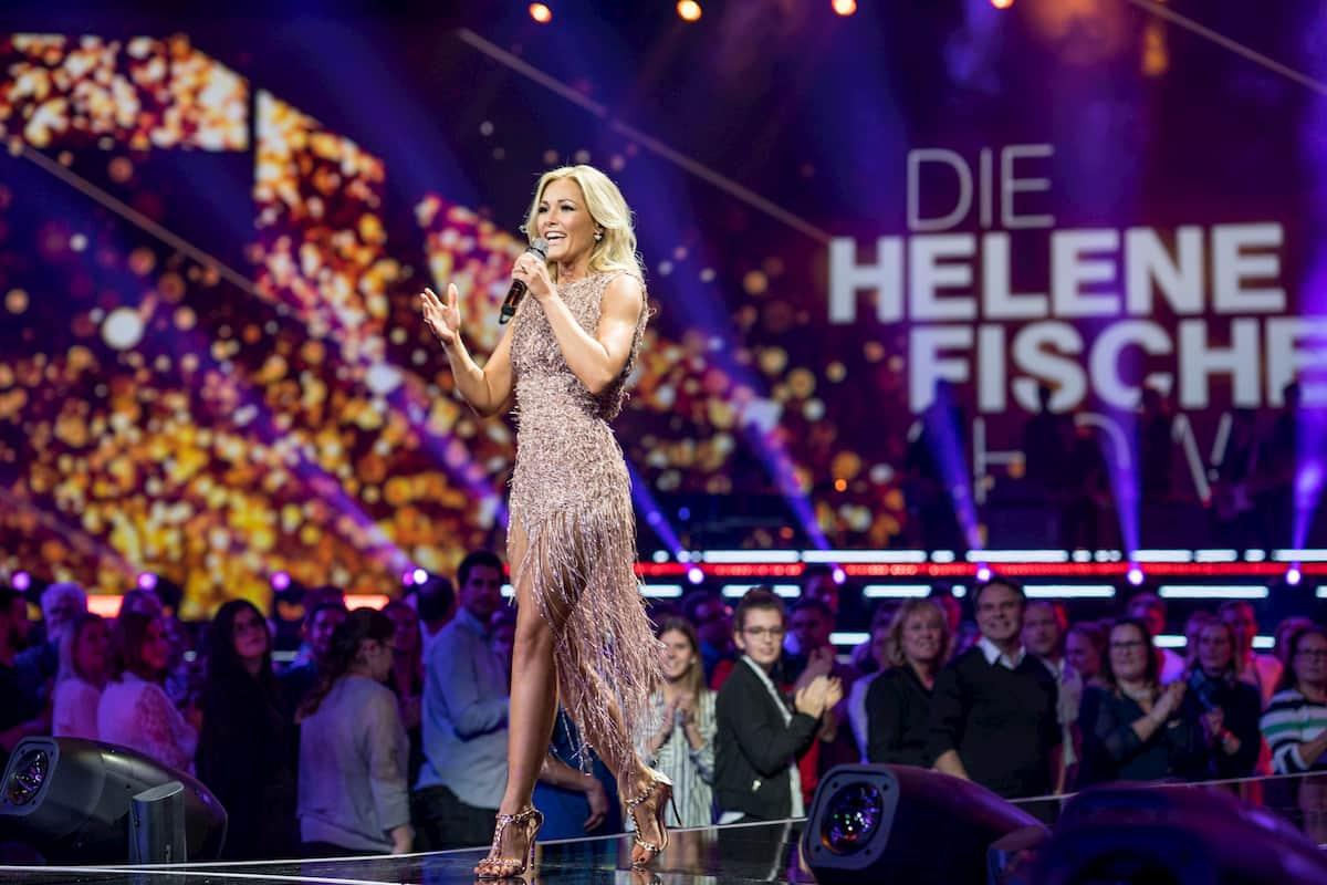 Helene Fischer singt in ihrer Weihnachts-Show am 25.12.2020