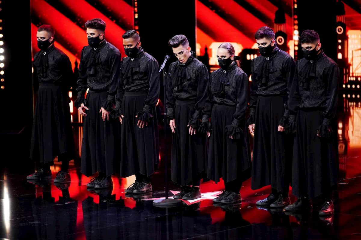 Immortals sind im Finale Supertalent 2020 am 19.12.2020