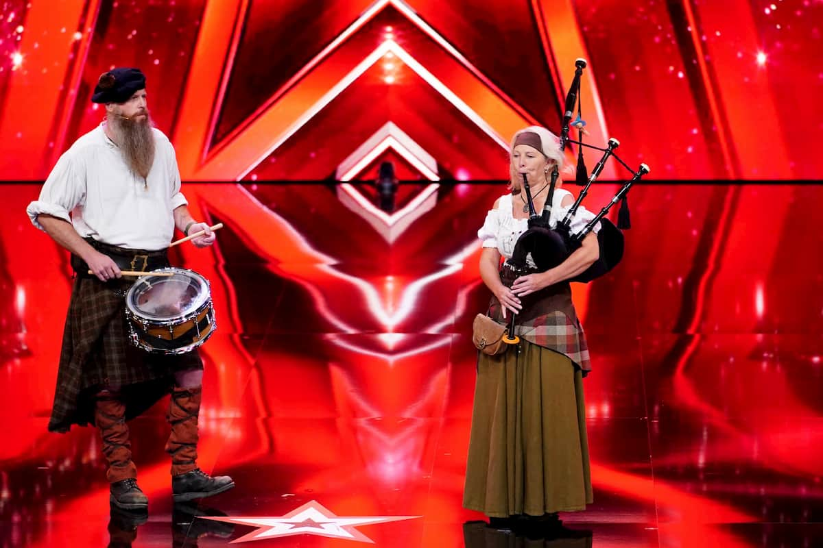 Iris und Stefan Lindner beim Supertalent am 17.12.2020