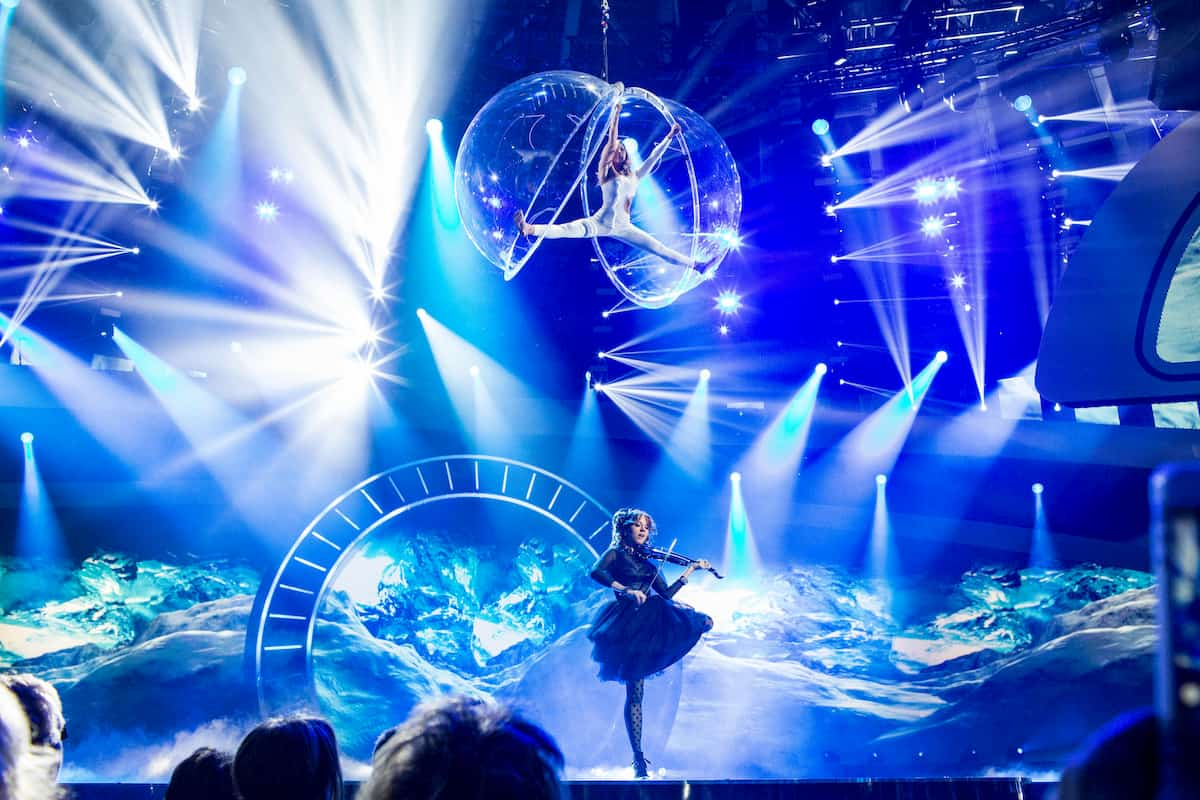 Lindsey Stirling und Helene Fischer am 25.12.2020 in der Helene Fischer Show