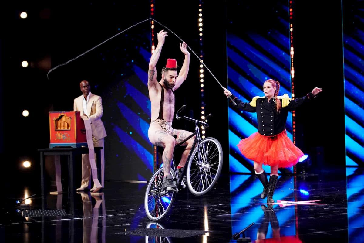 Martha und Francesco alias Loulou und Zazou beim Supertalent am 17.12.2020