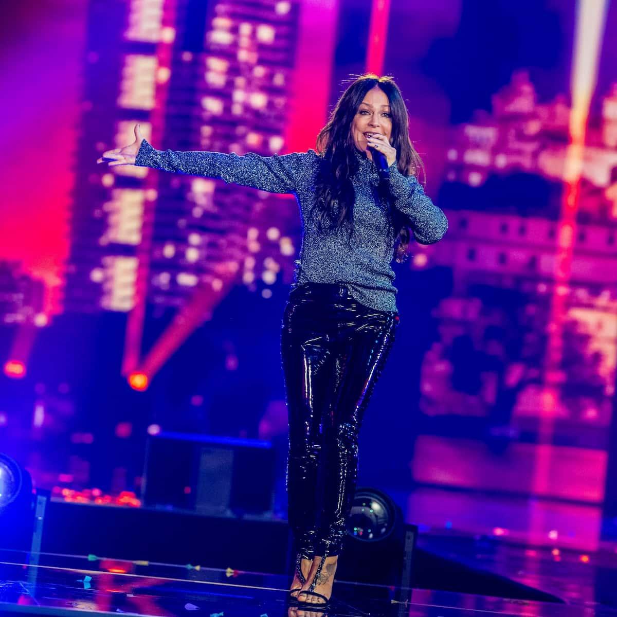 Michelle in der Silvester-Show 31.12.2020 Pilawa in ARD und ORF