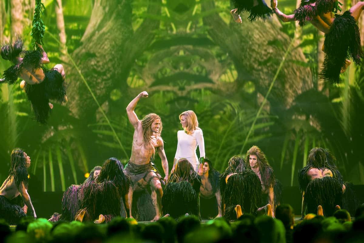 Musical Tarzan in der Weihnachts-Show von Helene Fischer 2020
