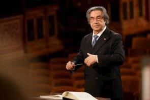 Neujahrskonzert 2021 Wiener Philharmoniker, Ballett, Dirigent Riccardo Muti am 1.1.2021 - im Bild zu sehen Dirigent Ricardo Muti