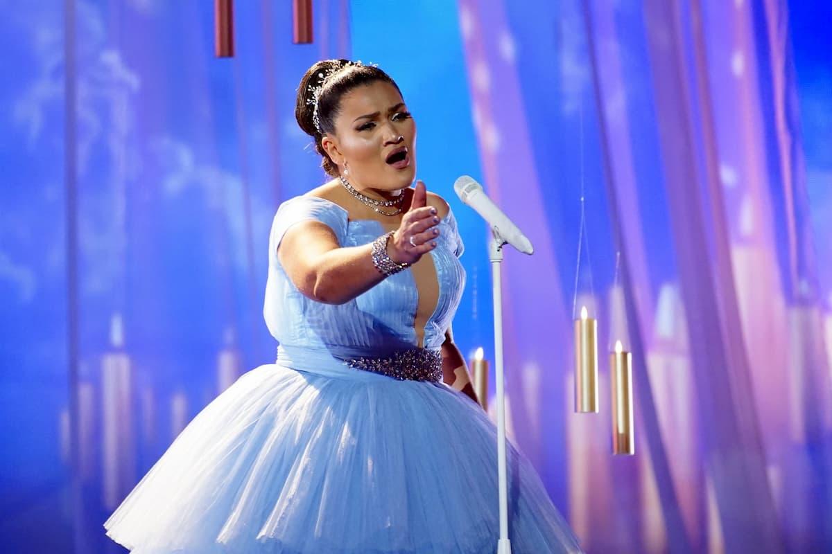 Platz 3 im Finale Supertalent 2020 für Vanessa Calcagno