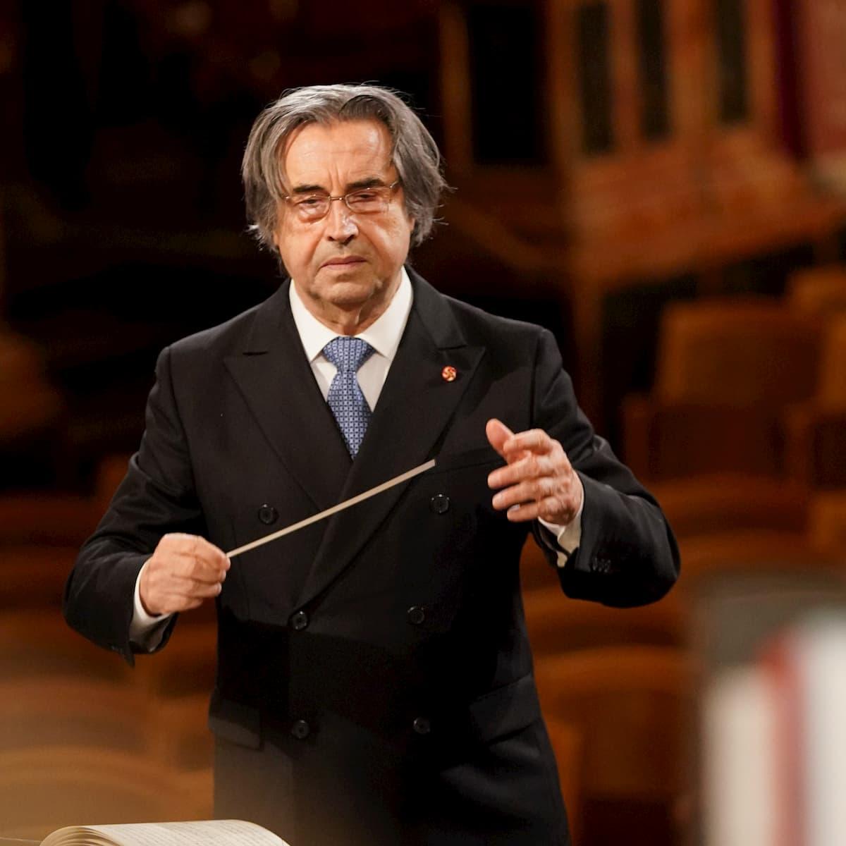 Riccardo Muti - Dirigent Neujahrskonzert der Wiener Philharmoniker 2021