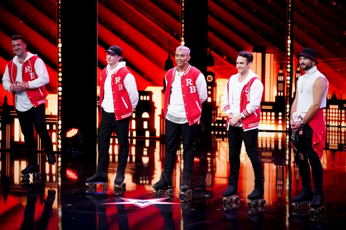 Rollerboys beim Supertalent am 10.12.2020 Kandidatin
