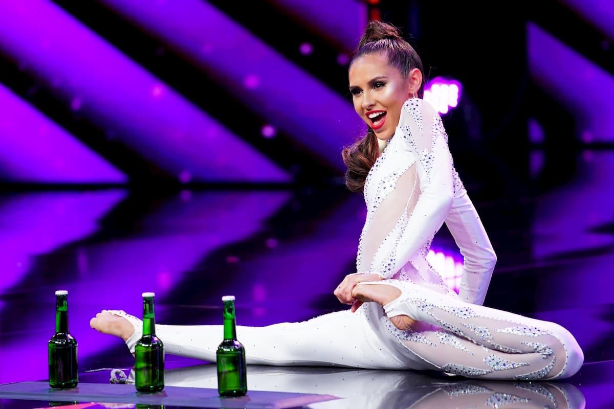 Ruslana Krutas beim Supertalent am 10.12.2020 Kandidatin