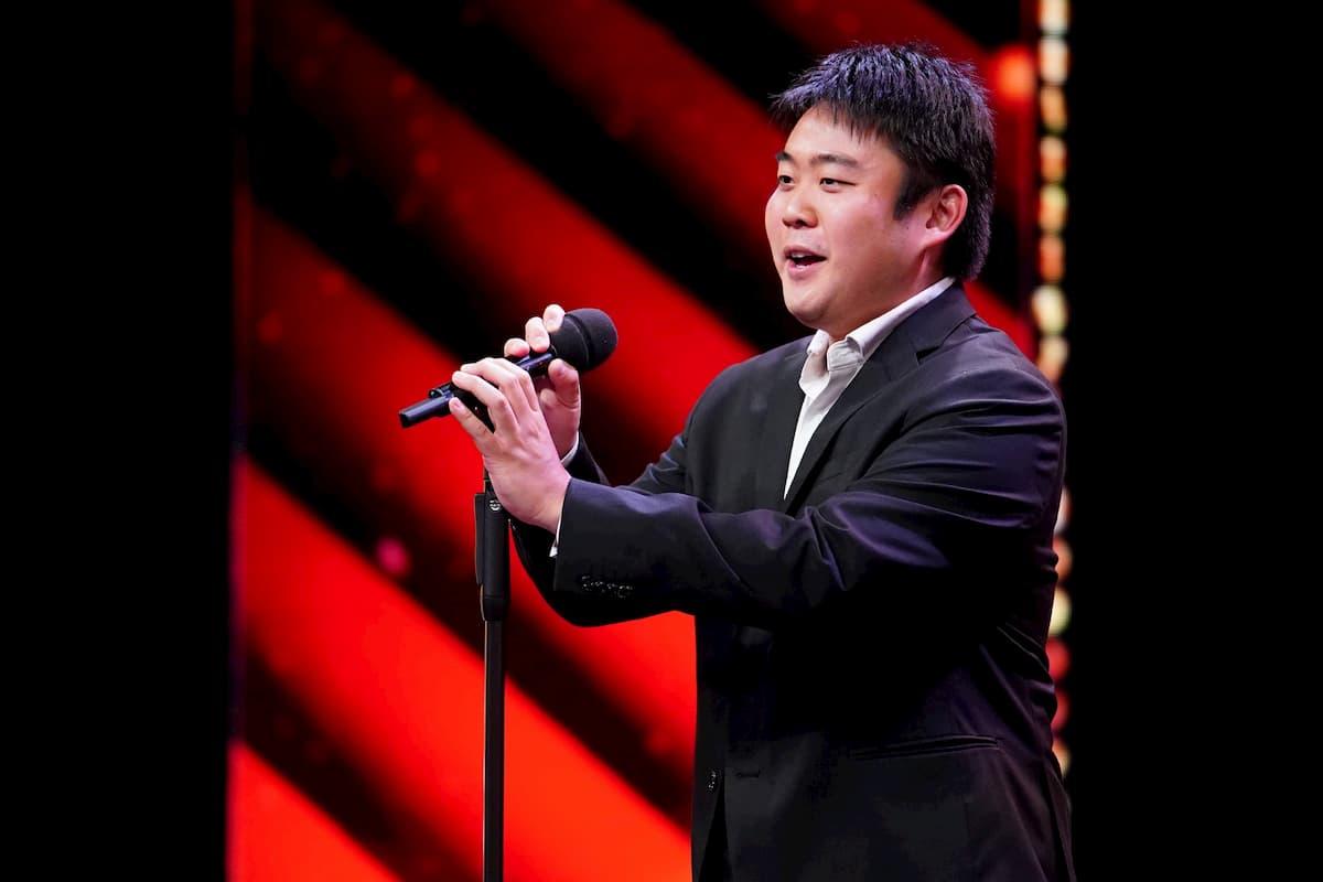 Sänger Yusuke Matsumura beim Supertalent am 5.12.2020