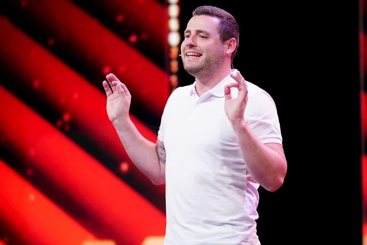 Sebastian Heiduczek beim Supertalent am 10.12.2020 Kandidatin