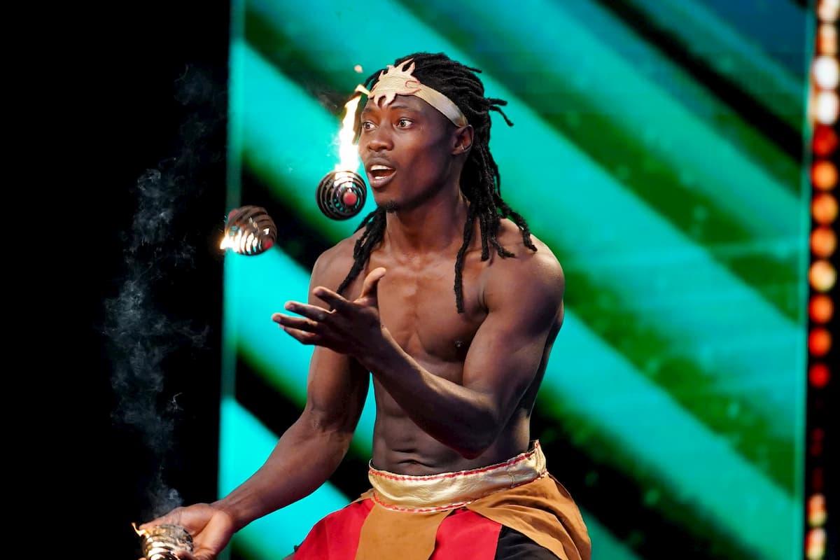 Seydouba Camara beim Supertalent am 5.12.2020