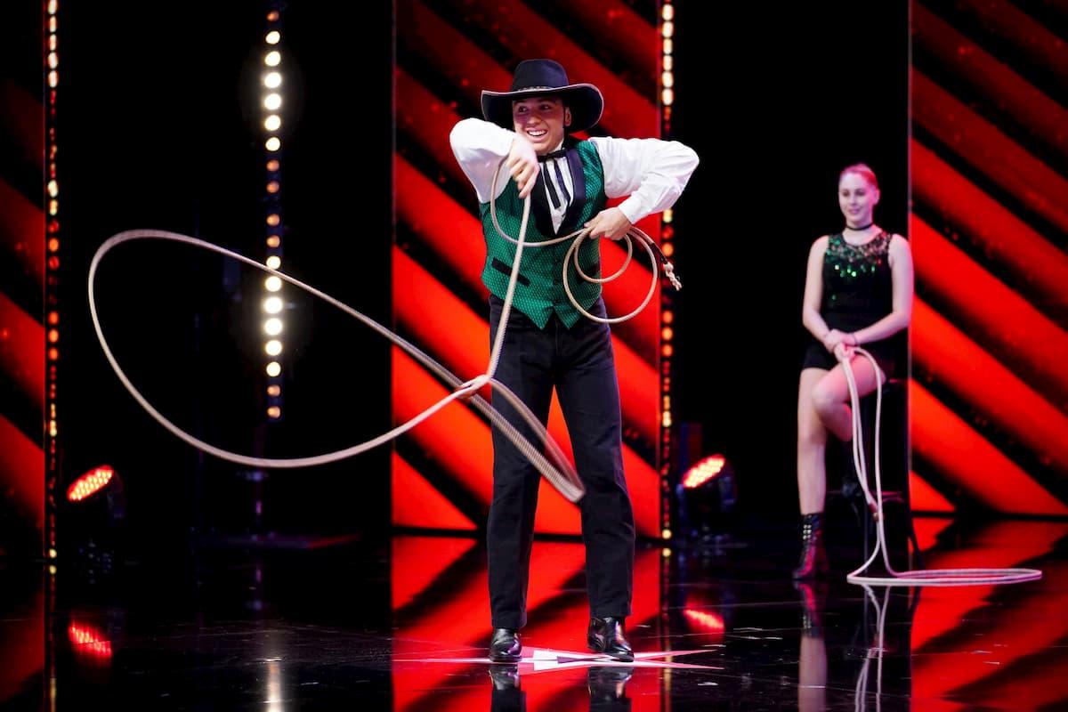 Sharon und Mike Togni beim Supertalent am 12.12.2020