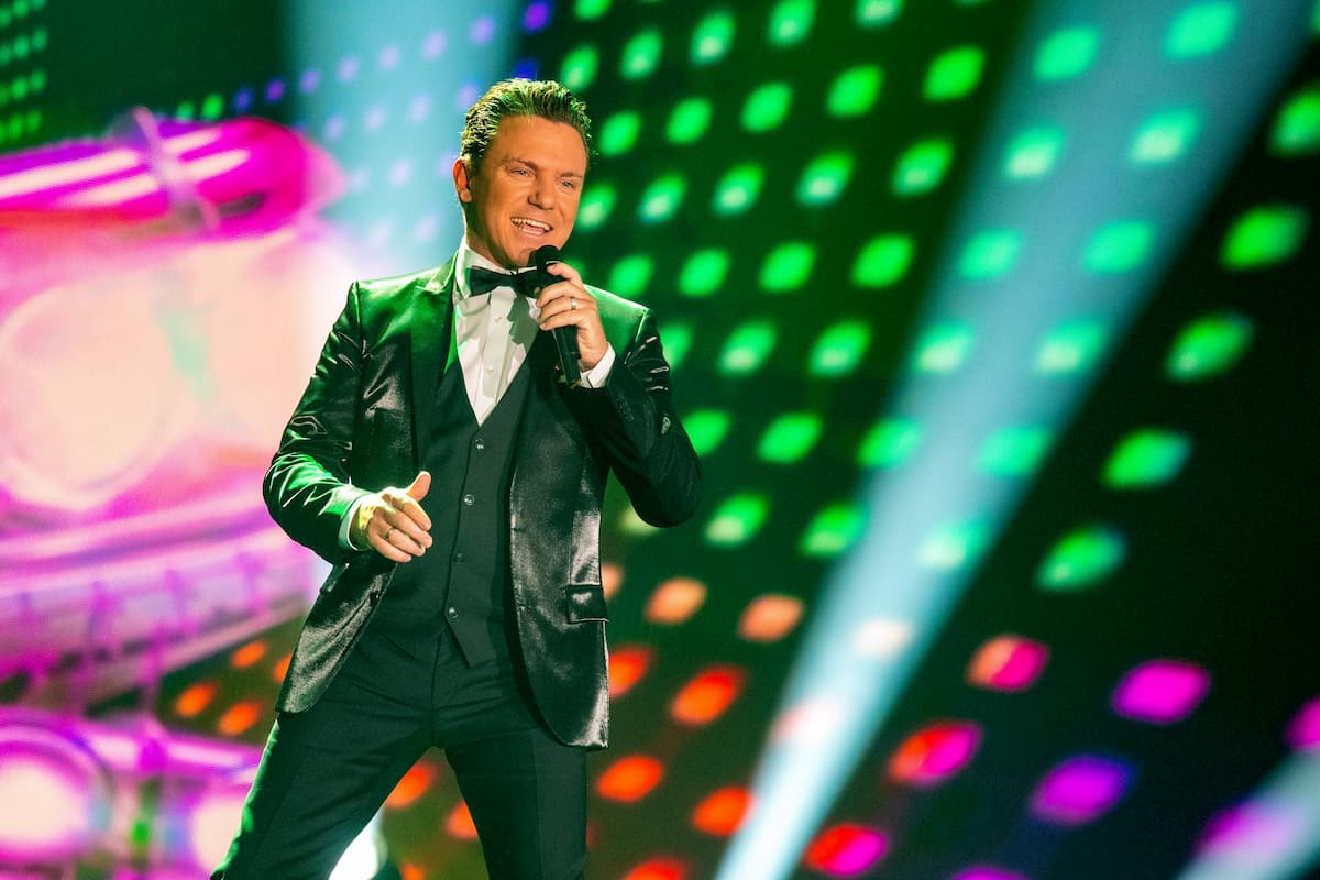 Stefan Mross in der Silvester-Show 31.12.2020 Pilawa in ARD und ORF