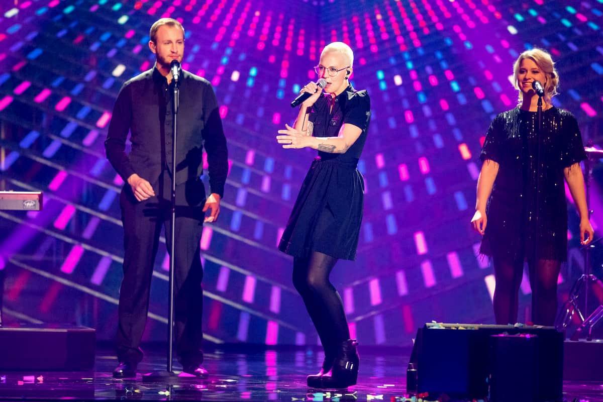 Stefanie Heinzmann in der Silvester-Show 31.12.2020 Pilawa in ARD und ORF