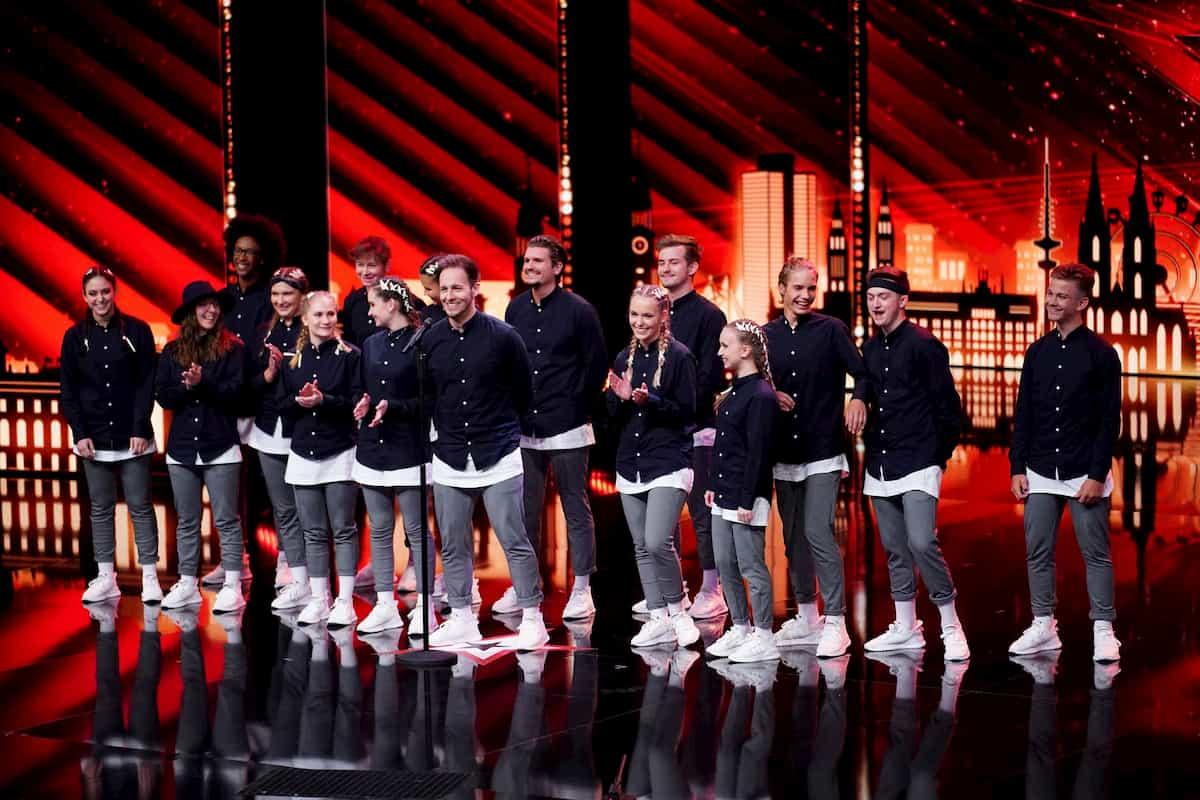 Supertalent am 5.12.2020 Alle Kandidaten, viel Artistik & Tanz, Songs - hier im Bild die Tanzgruppe Next Level