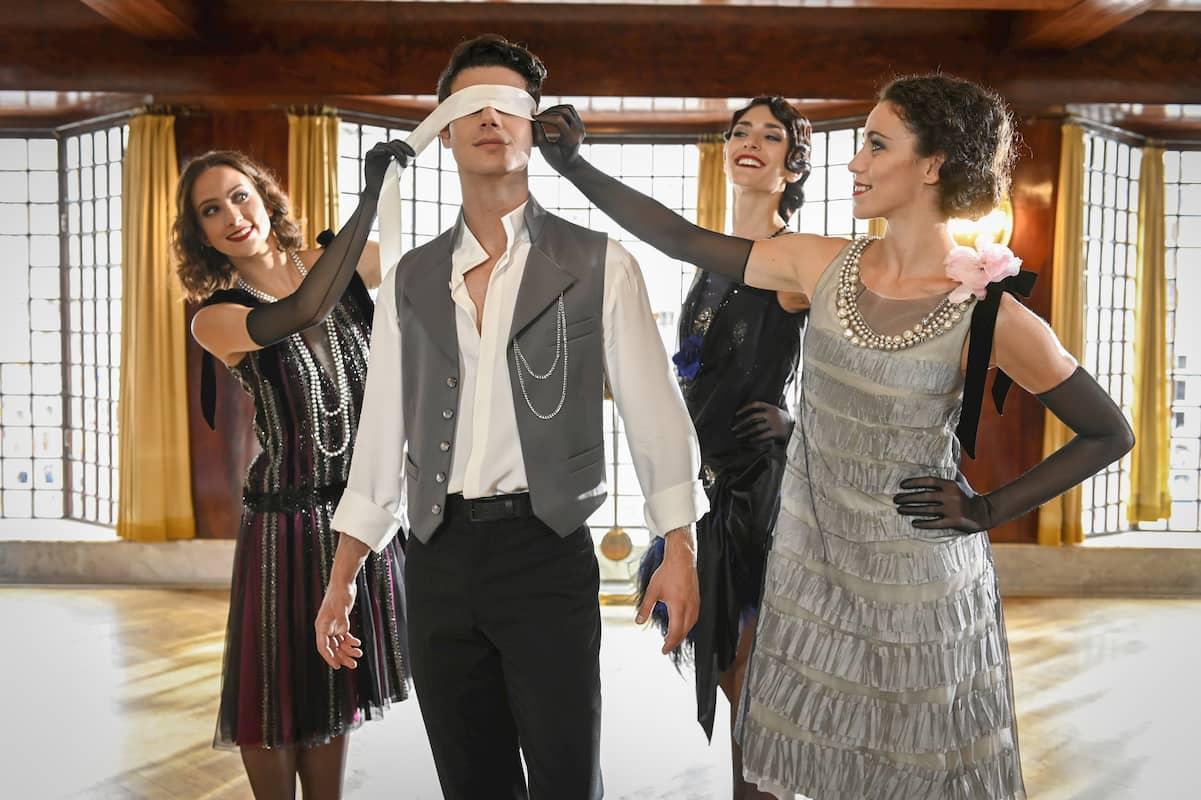 Tänzer im Neujahrs-Ballett 2021 Wiener Philharmoniker Neujahrskonzert 2021 Sveva Gargiulo, Davide Dato, Ketevan Papava, Alice Firenze