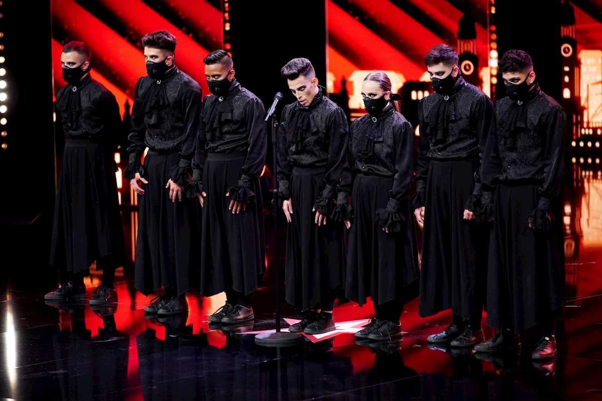 Tanzgruppe Immortals beim Supertalent am 5.12.2020