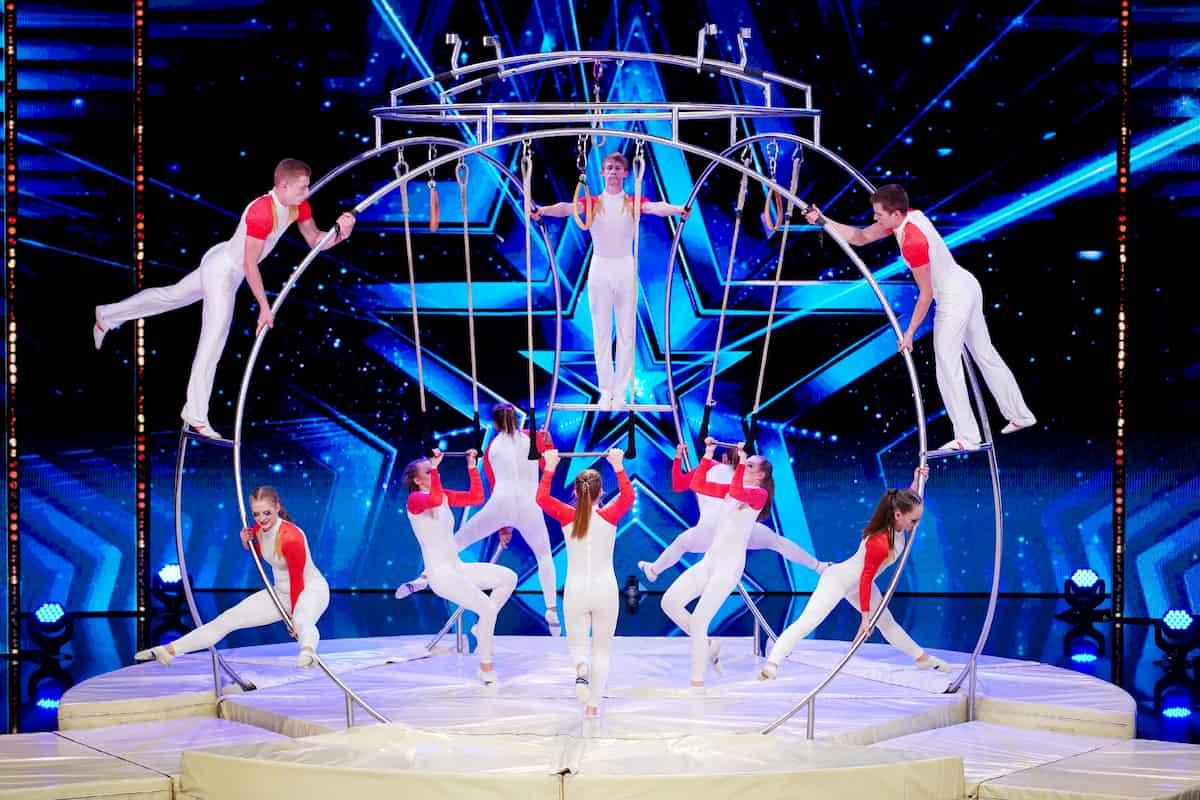 The Spinning Artists beim Supertalent am 12.12.2020