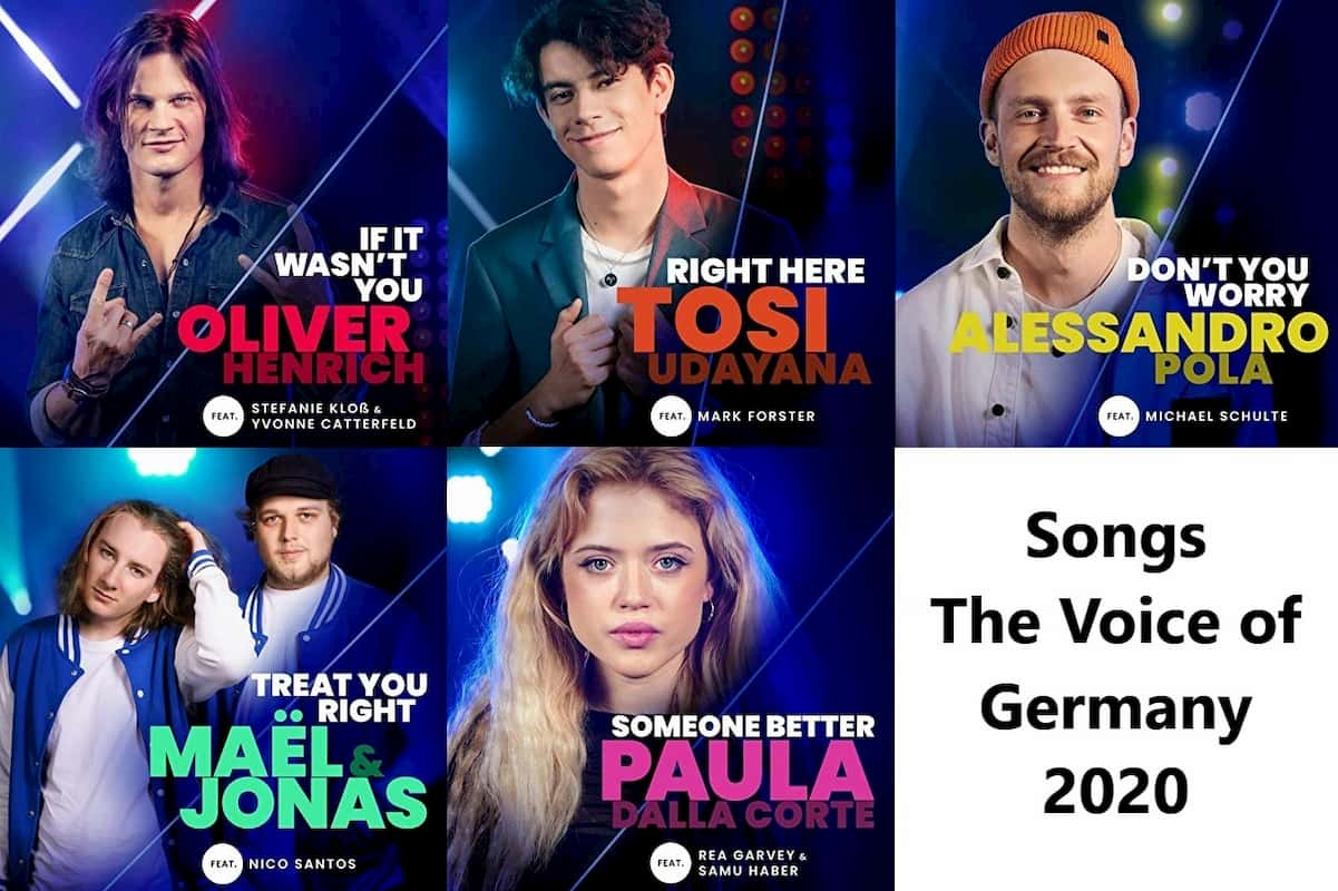 The Voice of Germany 2020 Songs Finale, Videos & Downloads