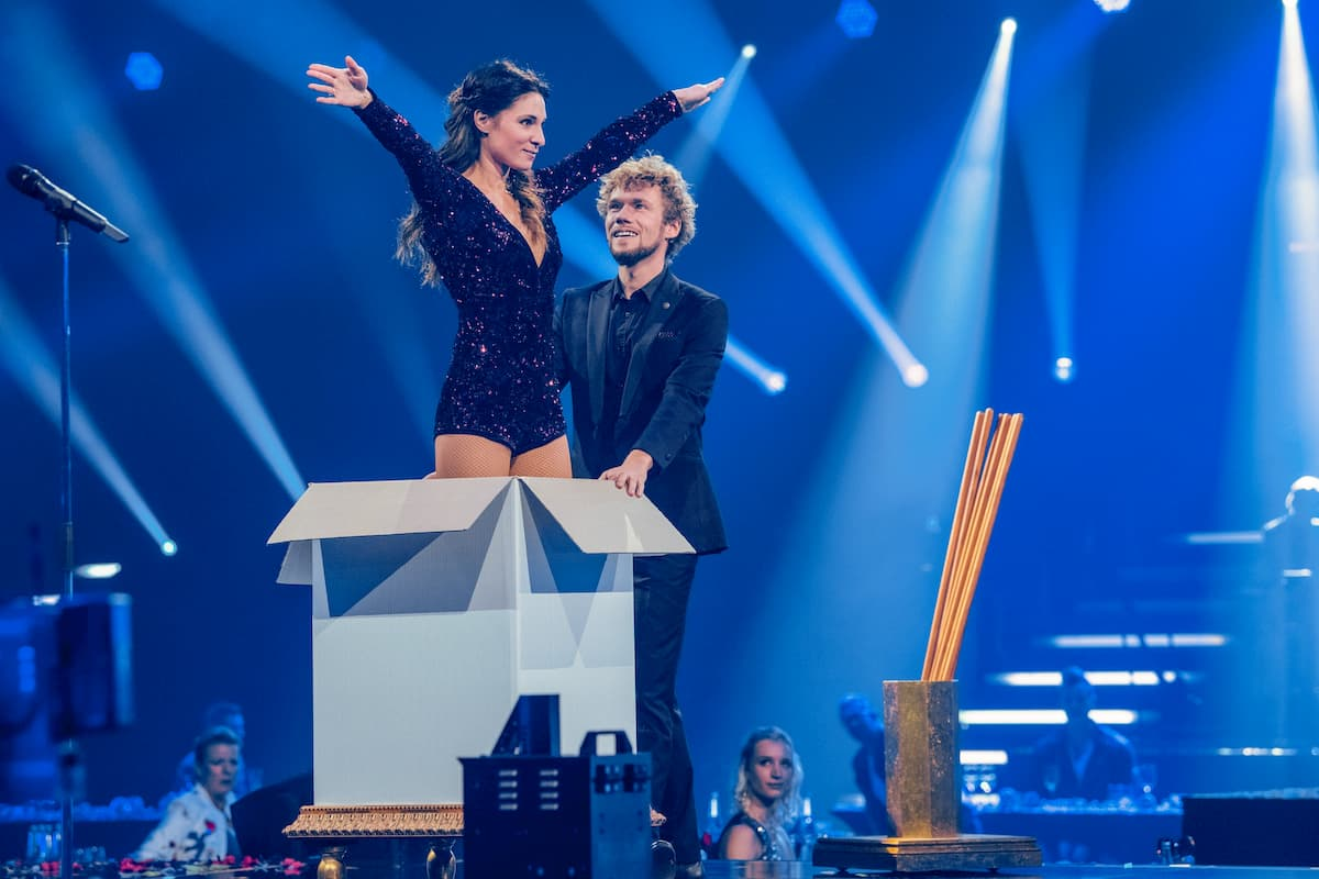 Thommy Ten & Amelie Van Tass 2 in der Silvester-Show 31.12.2020 Pilawa in ARD und ORF
