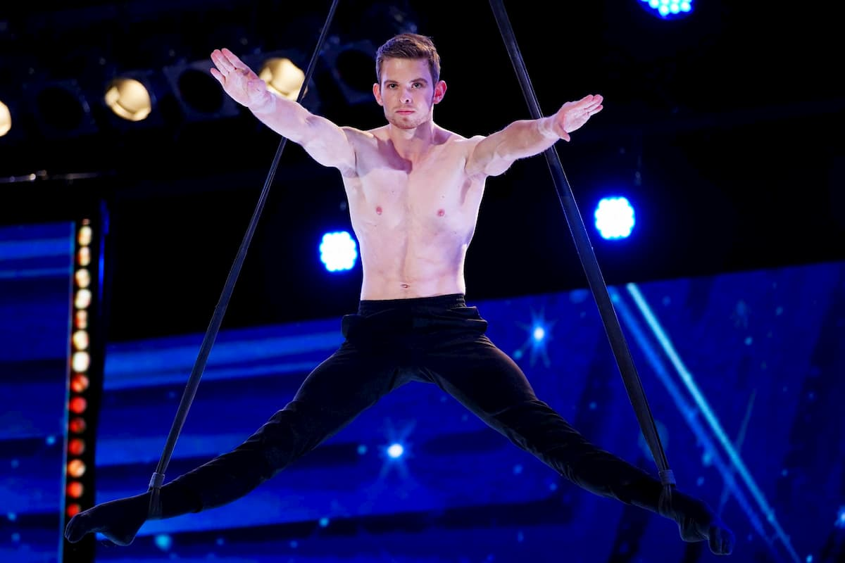 Tim Kriegler beim Supertalent am 12.12.2020