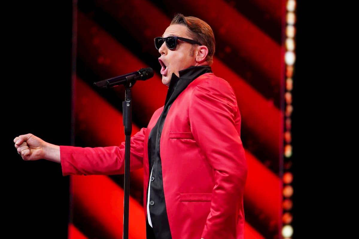 Tobias Gnacke beim Supertalent am 12.12.2020