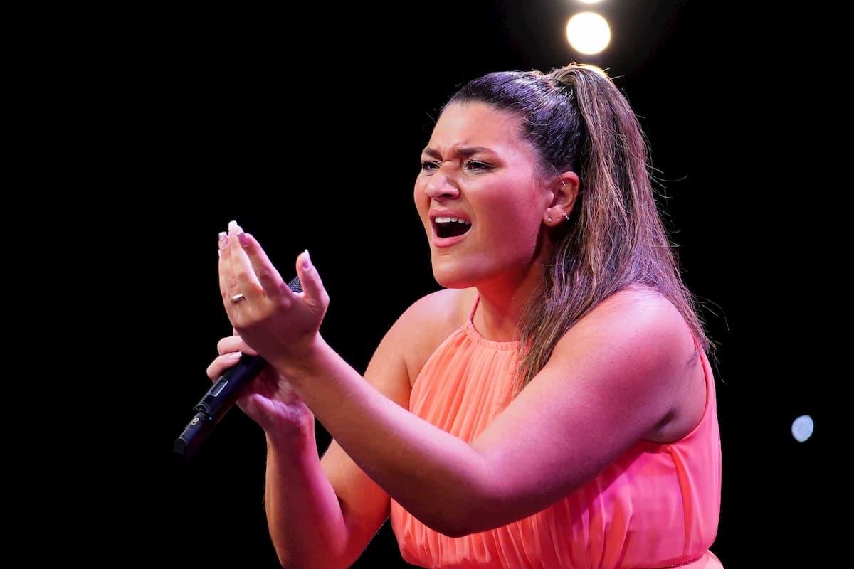 Vanessa Calcagno beim Supertalent am 12.12.2020