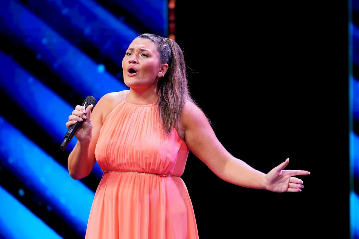 Vanessa Calcagno ist im Finale Supertalent 2020 am 19.12.2020