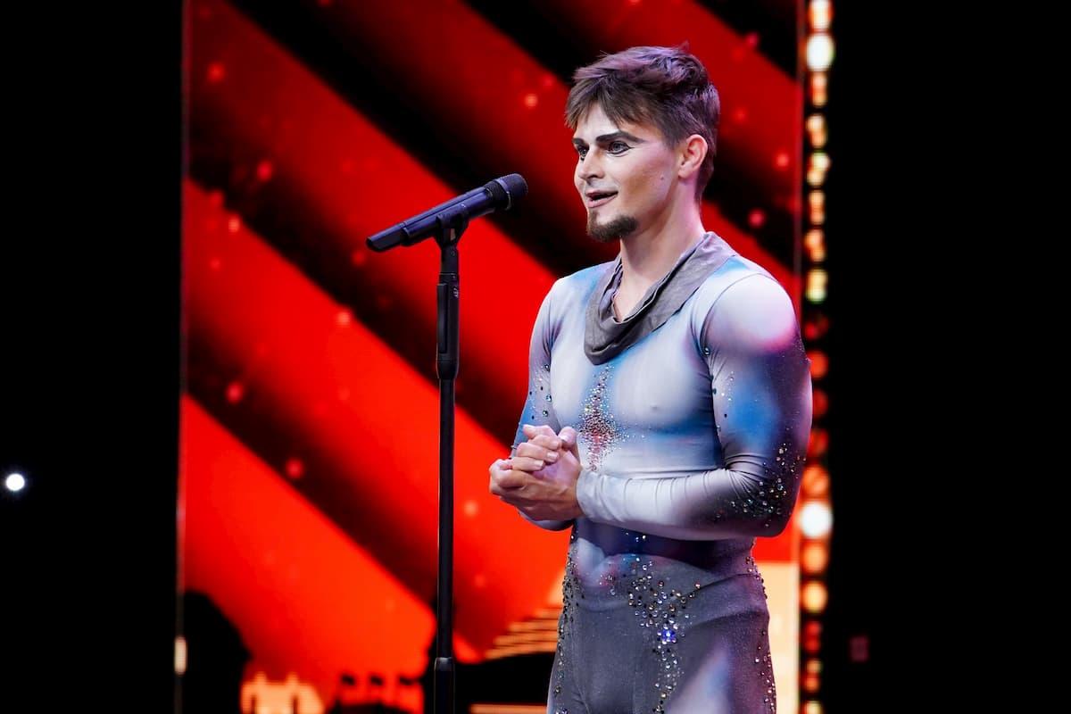 Victor Moiseev beim Supertalent am 12.12.2020