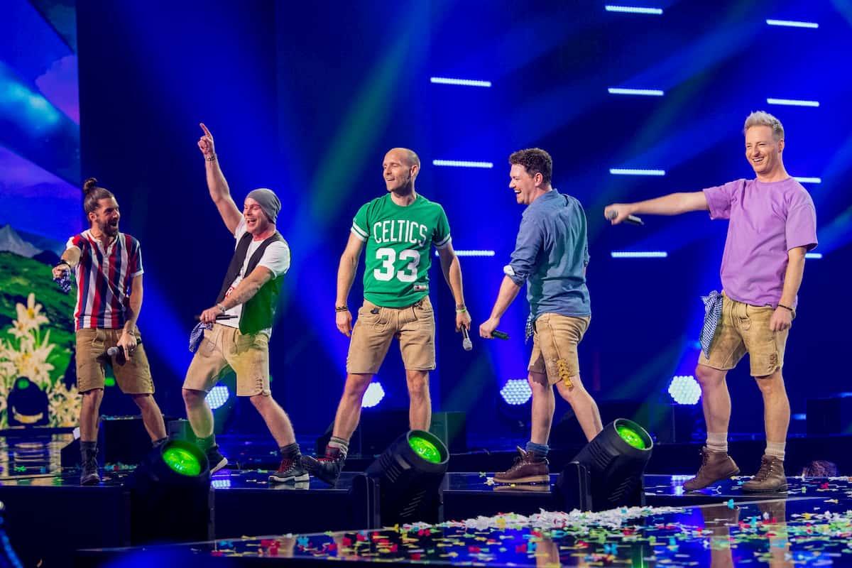 VoXXclub in der Silvester-Show 31.12.2020 Pilawa in ARD und ORF