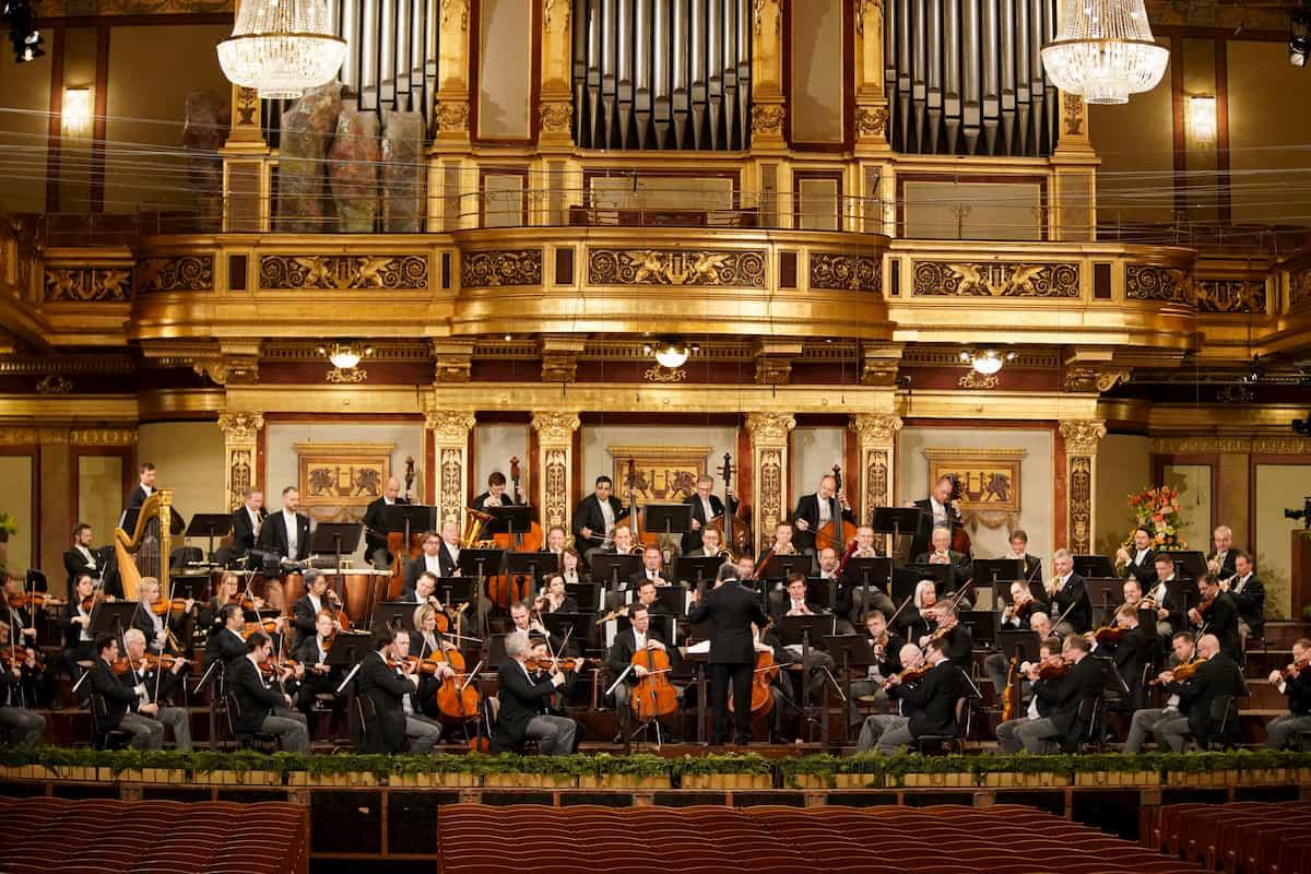 Wiener Philharmoniker beim Neujahrskonzert 2021