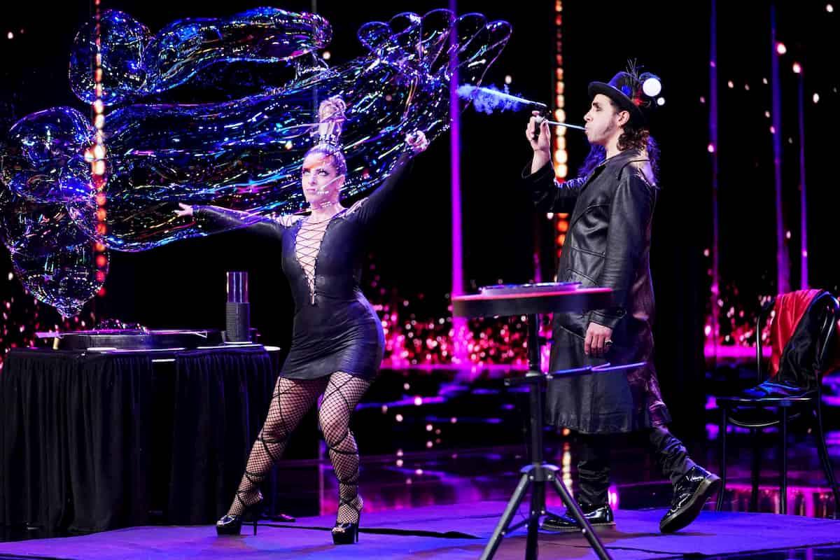 Willie Magic und Gala beim Supertalent am 5.12.2020