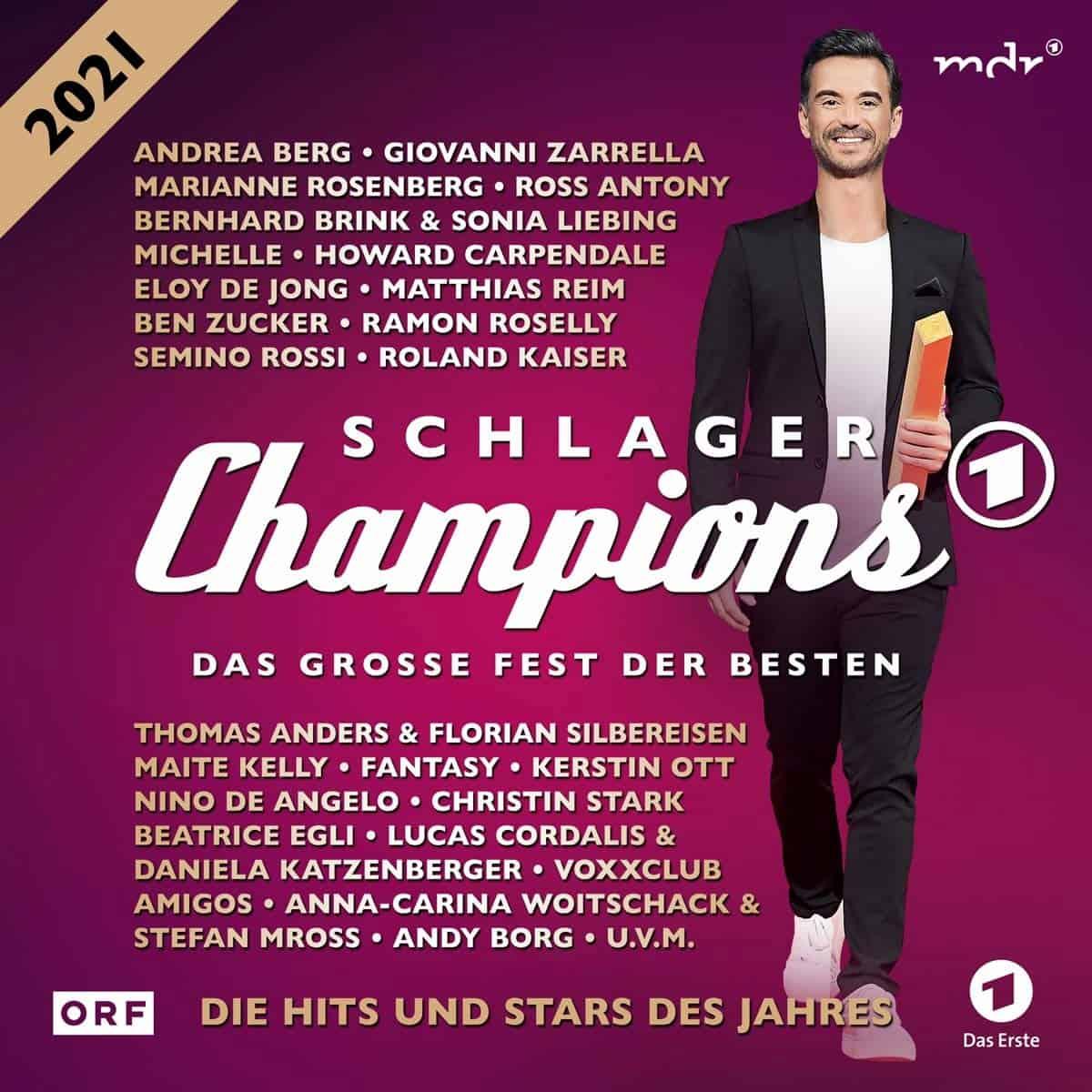 CD Schlagerchampions 2021 - Das große Fest der Besten