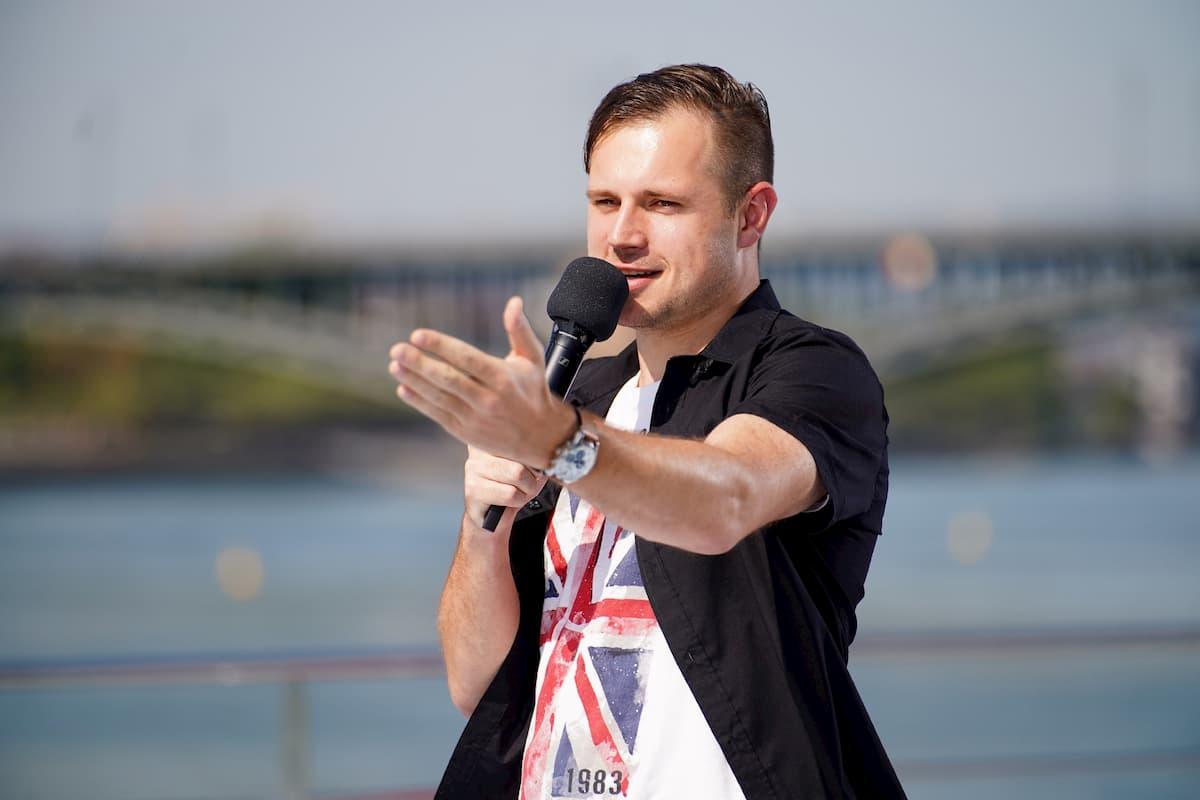 Christian Wening bei DSDS am 9.1.2021 als Kandidat