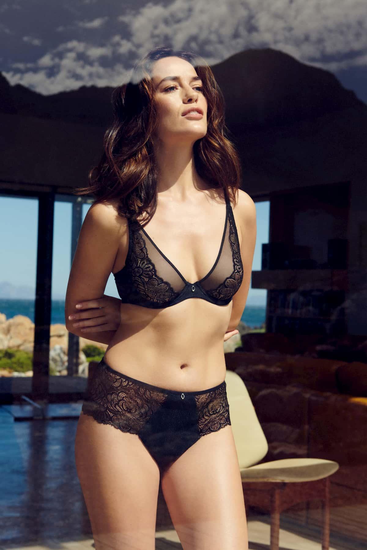 Dessous Marie Jo Modell Anna, Farbe Black von vorn