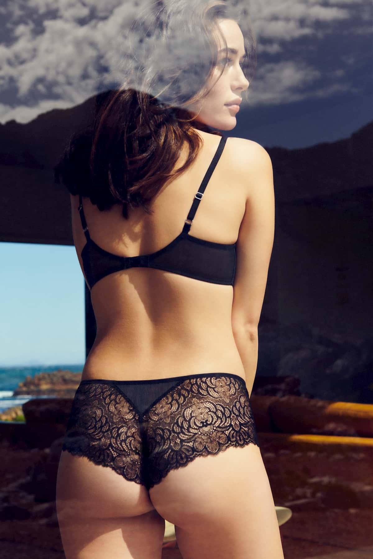 Dessous Winter 2021 Marie Jo Modell Anna, Farbe Black von hinten