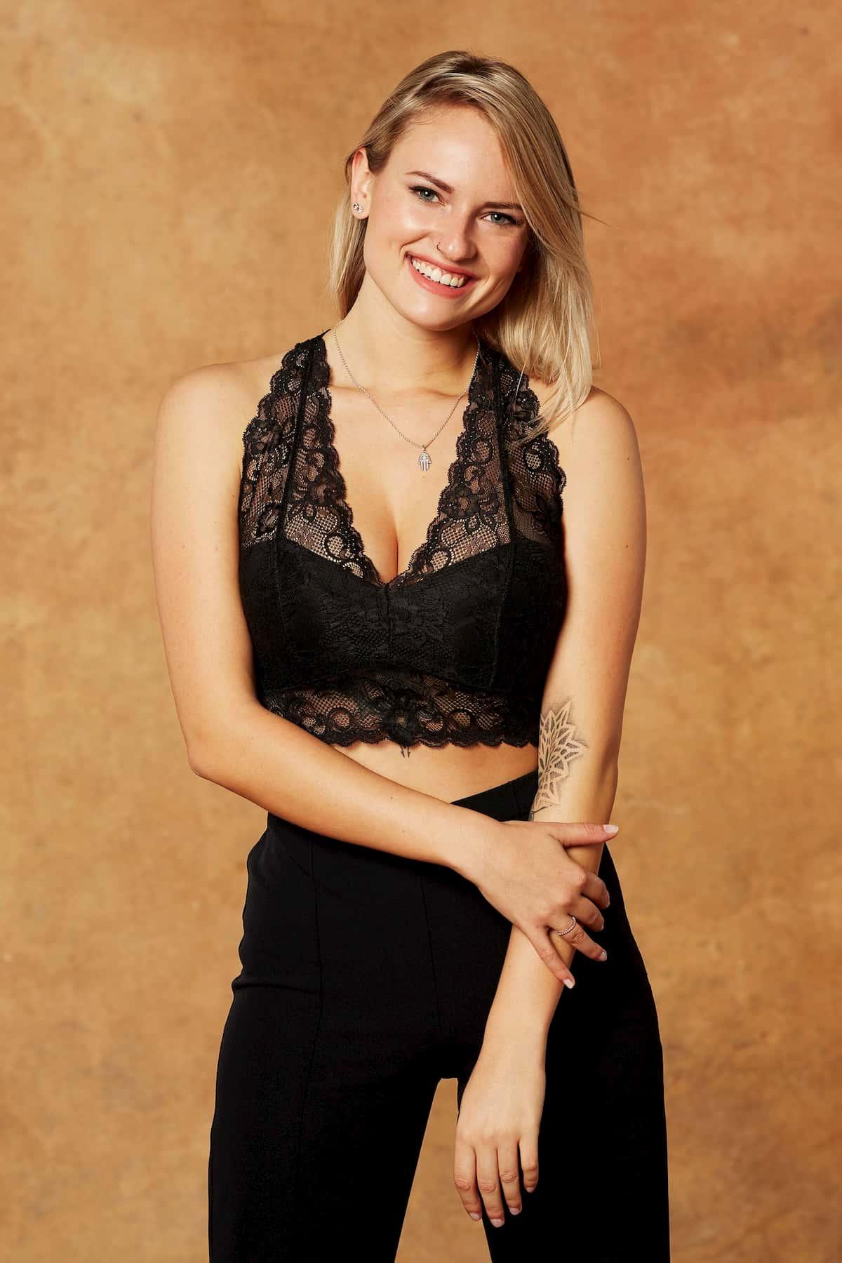 Kim-Denise als Kandidatin beim Bachelor 2021