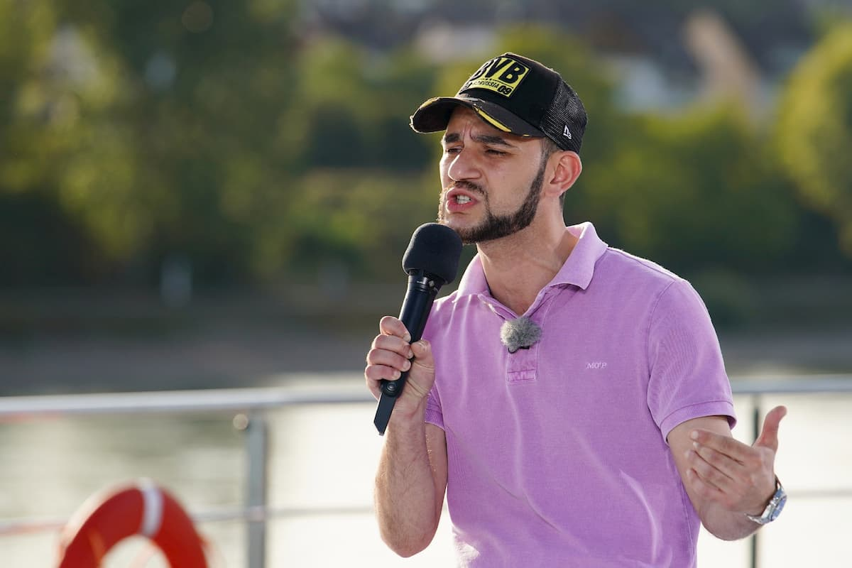 Mustafa Kurt bei DSDS am 12.1.2021 als Kandidat